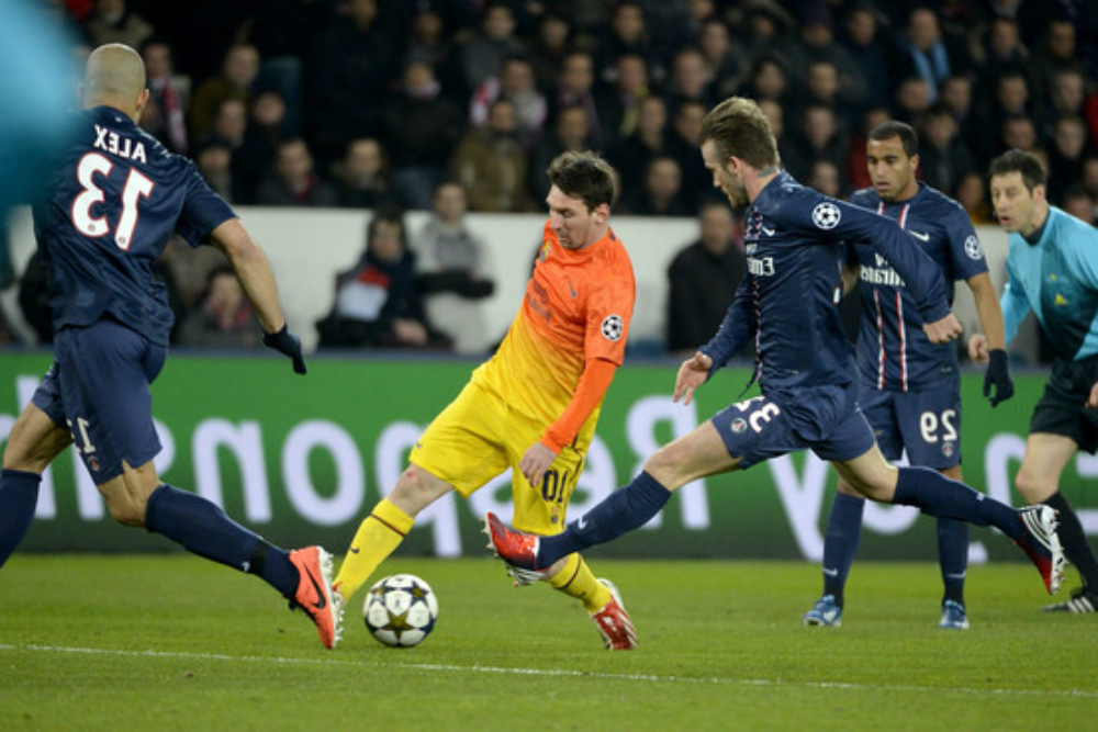 Paris Saint Germain vs Barcelona